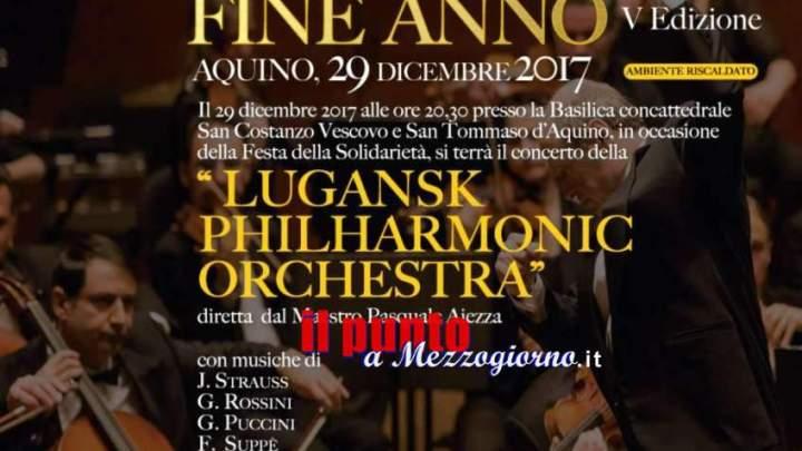Aquino, Gran Concerto di fine anno. Attesa per il 29 dicembre