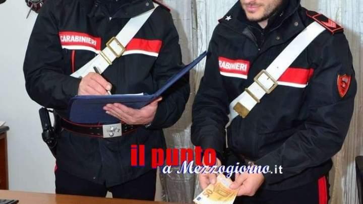 Da Roma a Veroli per spacciare soldi falsi, tre arresti e una denuncia