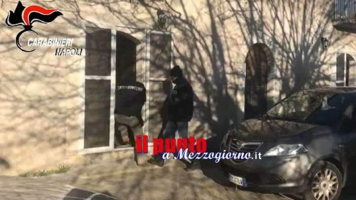 Boss della camorra latitante arrestato a Cassino – IL VIDEO del blitz