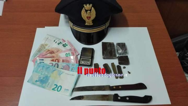 Spacciatori in trappola a Cassino, arrestati due stranieri con un etto di hashish