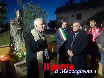Pofi, donata la reliquia di San Giovanni Paolo II alla chiesa di Santa Maria Maggiore