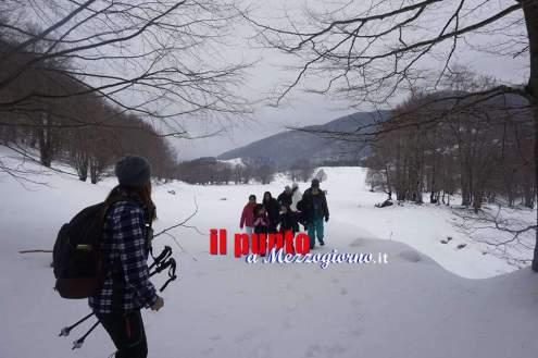 escursione neve