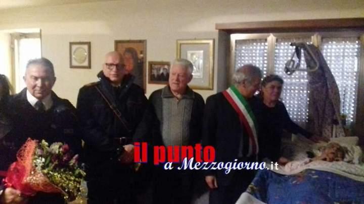 """Pignataro, festa grande per i 110 anni di """"nonna Marietta"""""""
