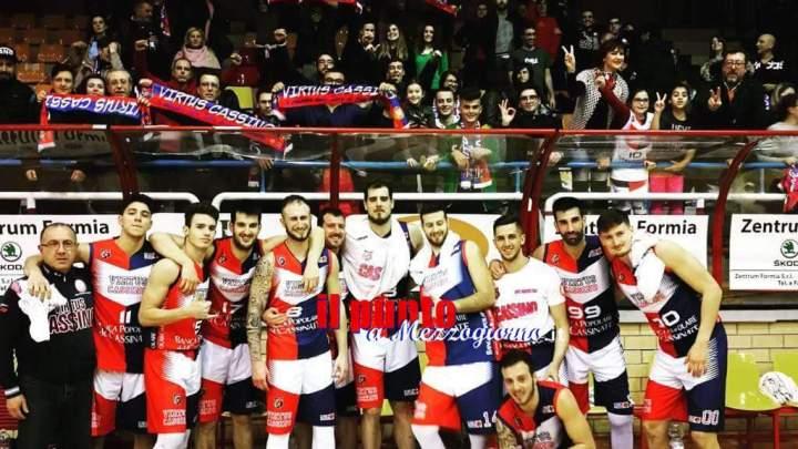 La Virtus archivia la regular season con la vittoria sulla Tiber Basket Roma. Ora il pensiero a Matera