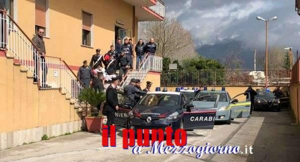 L'impero della droga a Cassino, sette arresti e sequestri per 1,2 milioni di euro