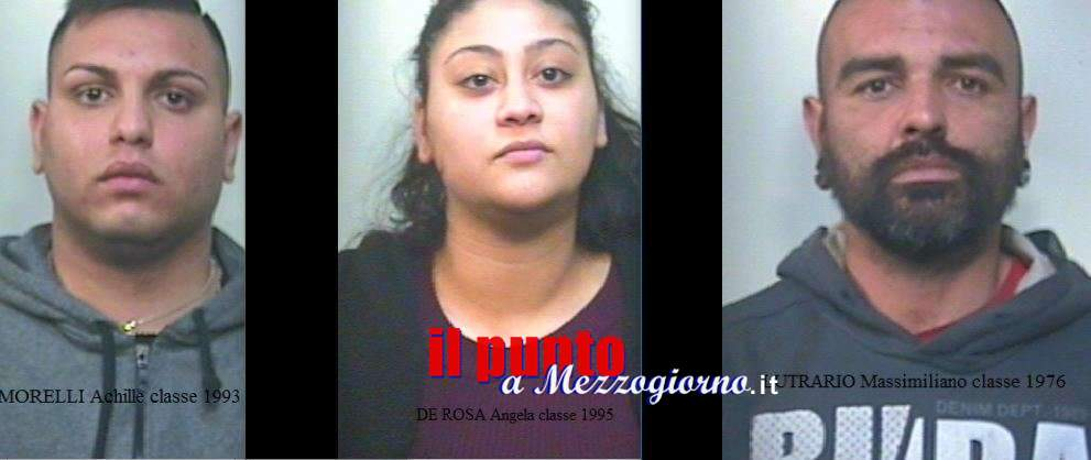 Azienda (dello spaccio) di famiglia a Cassino, scoperta coppia di pusher e loro aiutanti. Caccia ai clienti