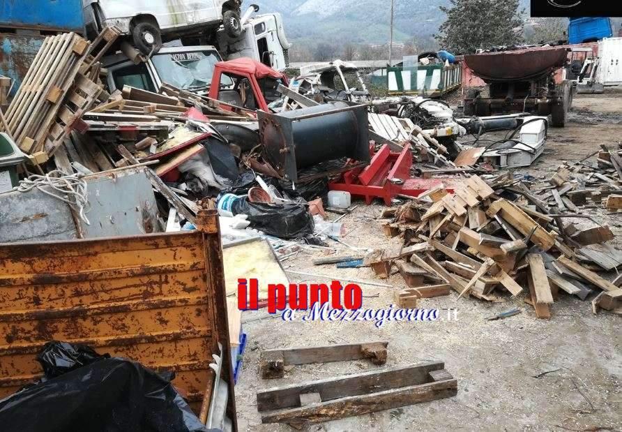 Discarica abusiva di 3mila metri con rifiuti pericolosi, denunciato 82nne