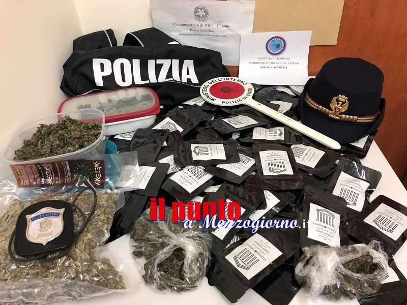 Negozio della marijuana, sequestrato un chilo di droga e denunciato commerciante