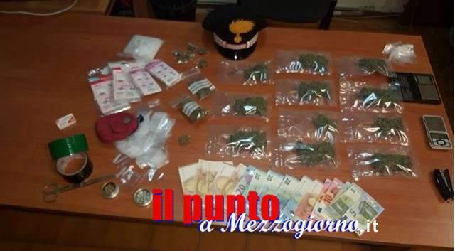 Sorpreso a Veroli con un etto di Marijuana, arrestato 26enne di Frosinone
