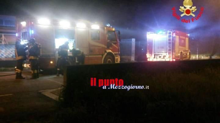Pub in fiamme a Formia, incendio si propaga dalla cucina