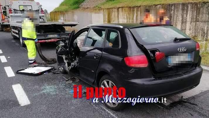 Ceprano, grave incidente sulla A1, un morto e due feriti