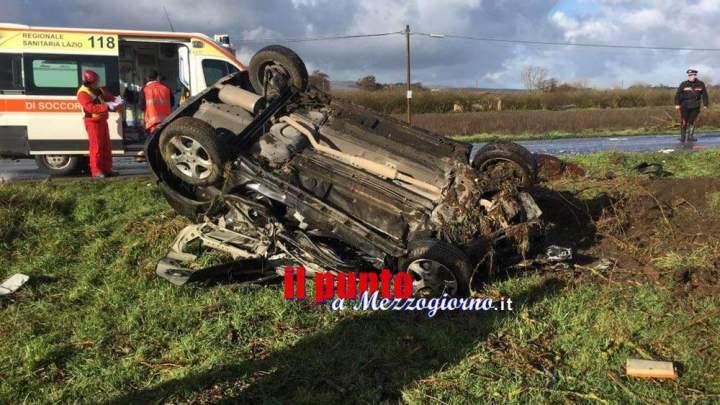Incidente stradale mortale a Sutri, auto contro tir: muore automobilista