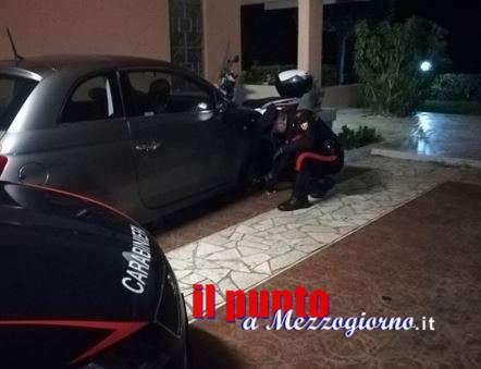 Sorpresi a rubare ruote alle macchine a Gaeta: arrestati due uomini