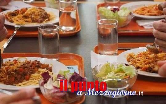 Rischio intonaci nei piatti in mensa della scuola materna a Cassino, multata ditta