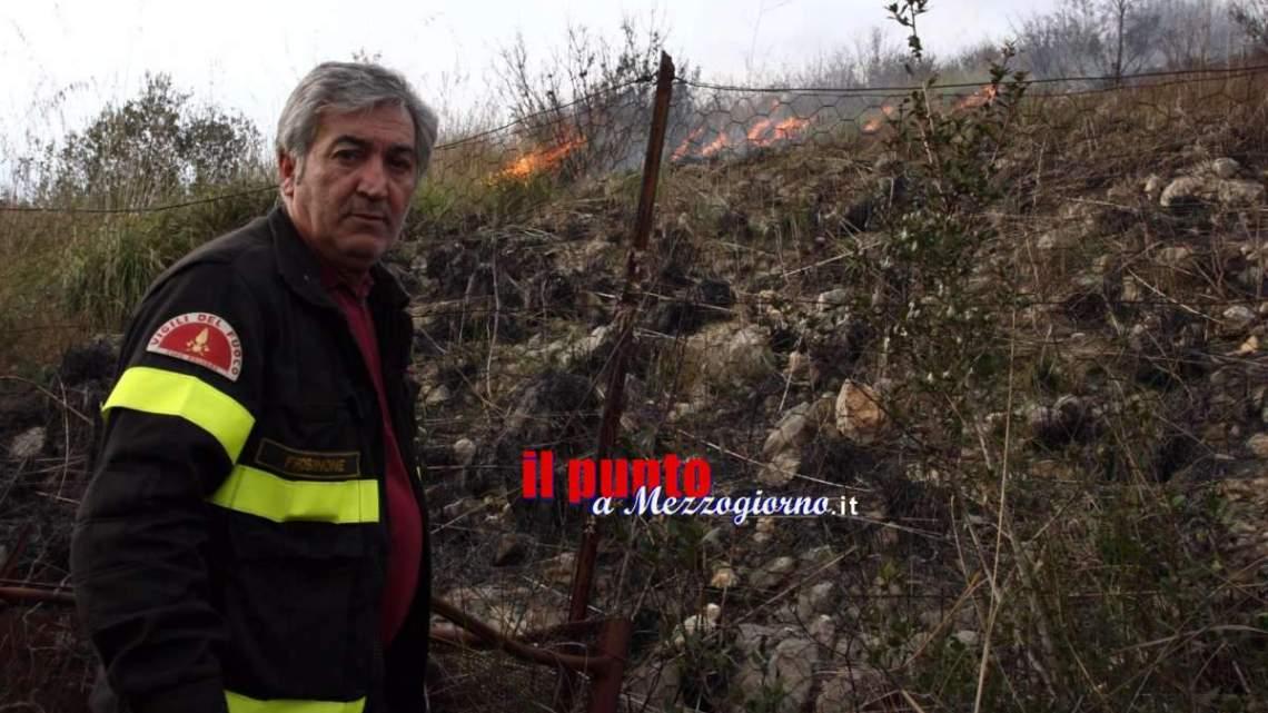 Vigili del fuoco di Cassino a lutto per Alfio, colonna del distaccamento