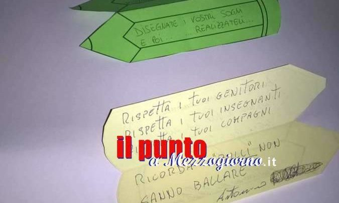 Corrispondenza tra bambini della parrocchia di S. Giovanni e i detenuti del carcere di Velletri