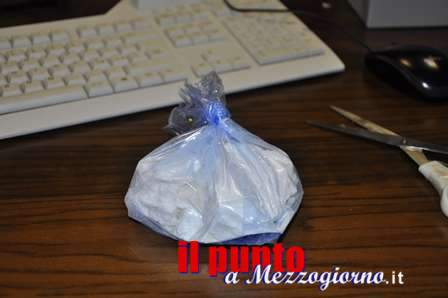 Cocaina tra le cialde di caffè, arrestato a Gaeta spacciatore con 150 grammi di droga