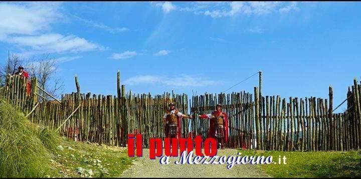 Un Castrum Romano sulla via Francigena ad Alatri, la Legio I rievoca la vita dei legionari