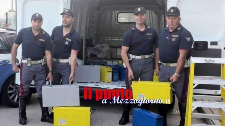 Trasportava grosse batterie senza documenti di viaggio, 37enne denunciato a Cassino