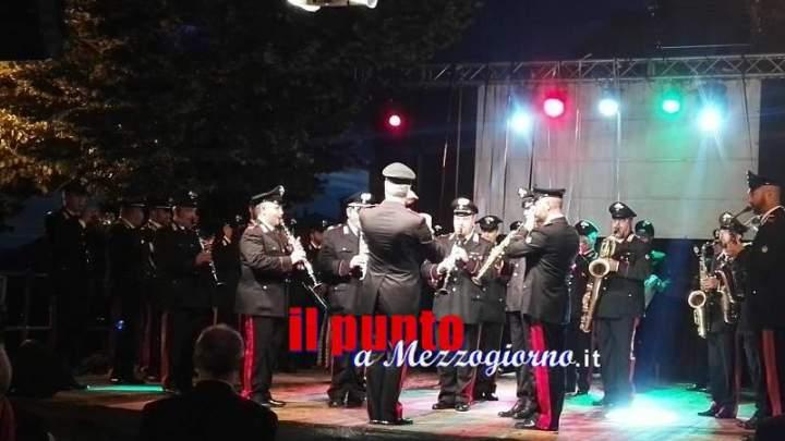 Concerto della Fanfara della Legione Allievi Carabinieri di Roma a Serrone