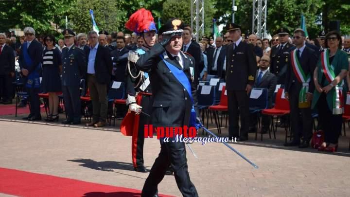 Festa dell'Arma dei Carabinieri, alla villa comunale di Frosinone le celebrazioni del 204° anniversario