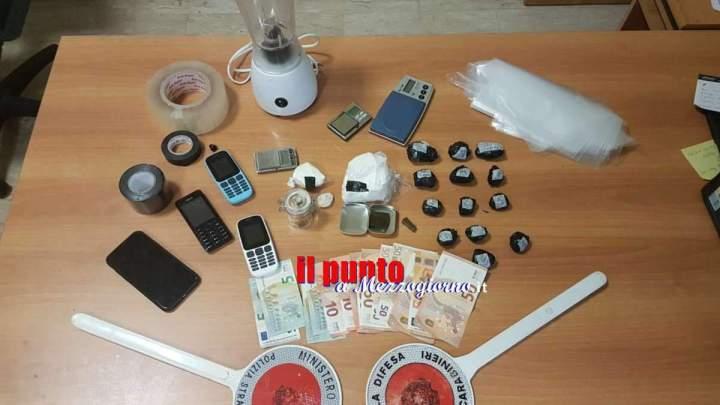 Con la moglie, la sorella e il cognato a trasportare droga, arrestati a Frosinone – LE FOTO