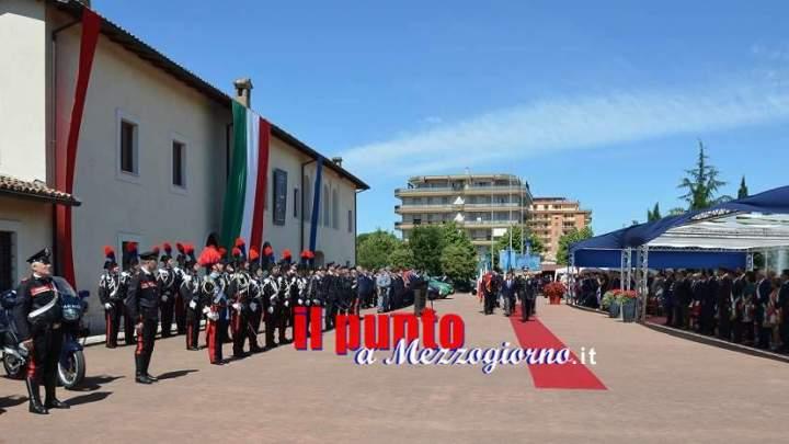 """Festa dell'Arma dei Carabinieri, le attestazioni di merito agli """"eroi in uniforme""""-"""