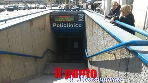 Guasto alle Metro B, evacuato treno alla stazione Policlinico