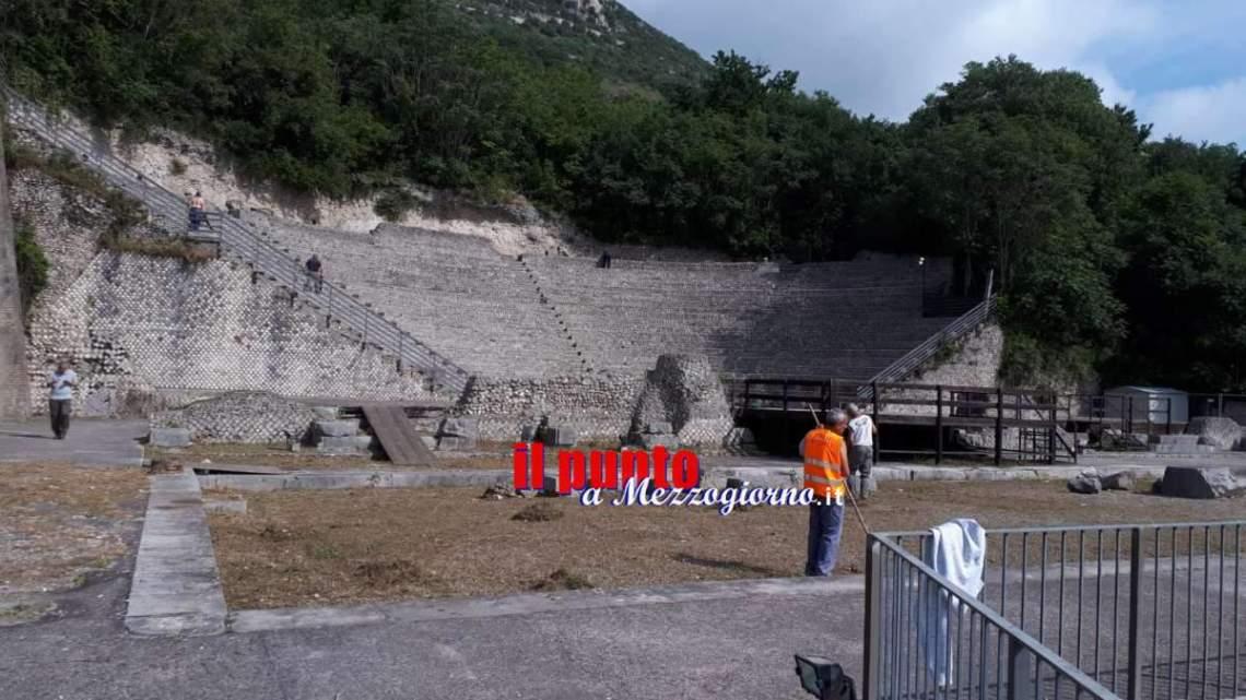 Completata la riqualificazione del palco al Teatro Romano
