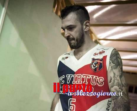 Virtus Cassino: Luca Castelluccia vestirà di nuovo la maglia rossoblu