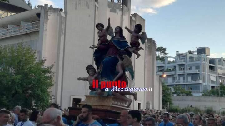 Cassino: Folla di fedeli per la Madonna dell'Assunta