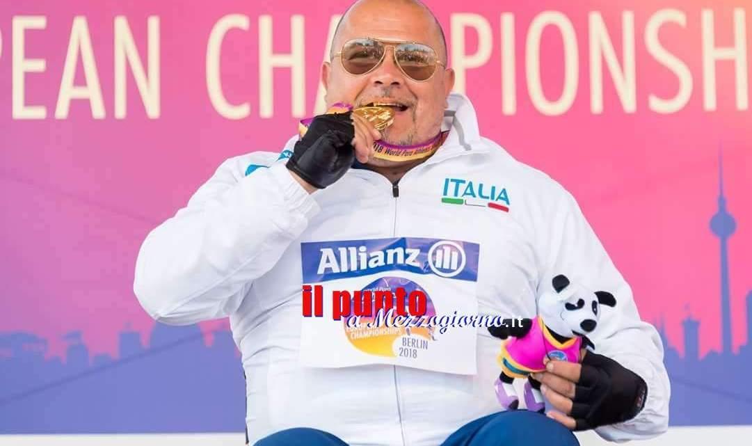 """Medaglia d'oro alle Paralimpiadi di Berlino, Campoccio: """"Momento di riscatto"""""""
