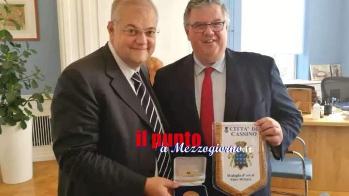 """Il sindaco D'Alessandro a Nijmegen per il progetto europeo  """"Eyes"""" Liberation Route"""