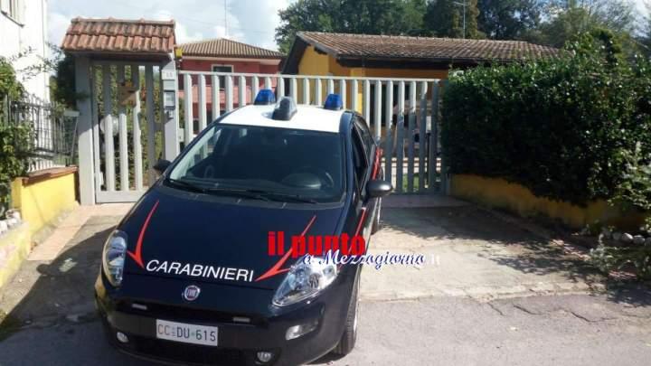 Dosi di droga nascoste nei muri del centro storico ad Anagni, 6 arresti