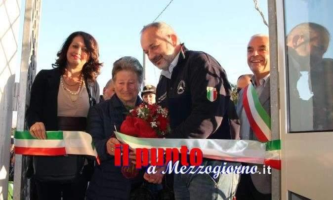 Inaugurata a Pontecorvo la sede della protezione civile intitolata a giovane volontario