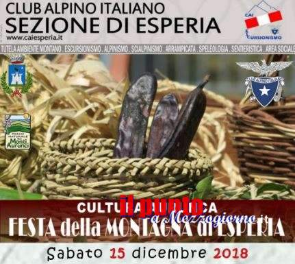 Festa della Montagna ad Esperia, Delle Cese (Parco Aurunci): all'insegna di ambiente e tradizioni