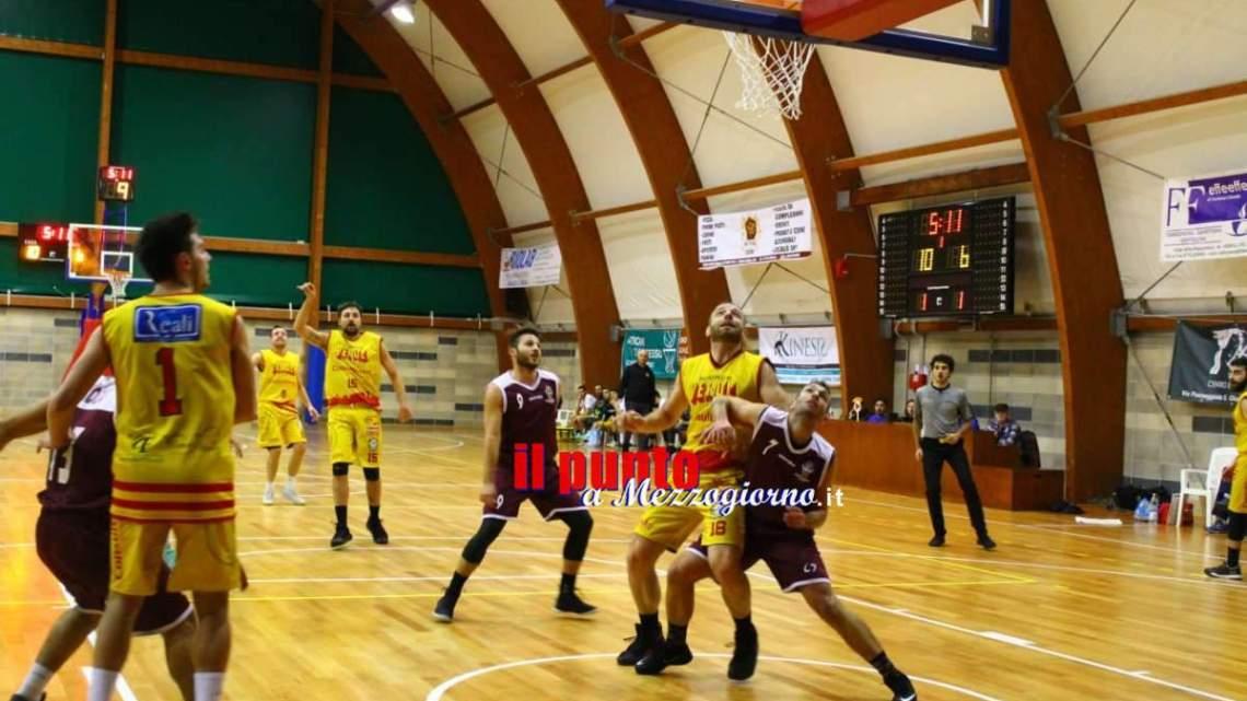 Basket serie C Silver; Pallacanestro Veroli supera la Nova Basket Ciampino e prosegue nel trend positivo