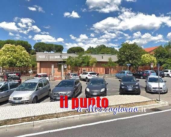 Furto notturno all'ufficio postale di Frosinone, bottino da 170mila euro