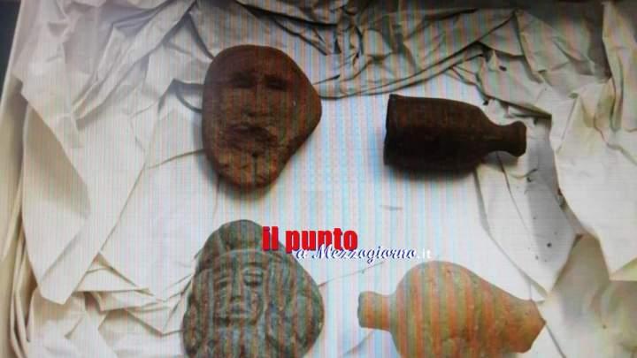 Droga e archeologia ad Alvito, operaio arrestato per possesso di stupefacente e reperti