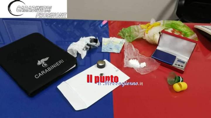 Sorpreso con la cocaina ad Alatri, arrestato 26enne di Frosinone