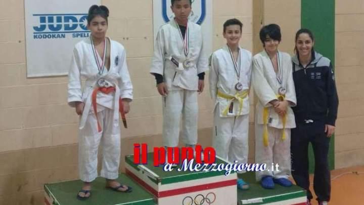 """Incetta di podi dei ragazzi del Judo Ludi Club Aquino nel 1° Memorial """"Sesio Famà"""" a Spello (PG)."""