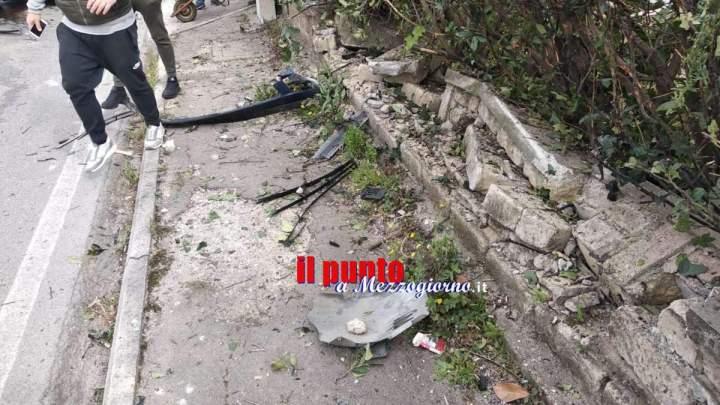 Incidente stradale in via dei Cinque Archi a Velletri, grave un 19enne
