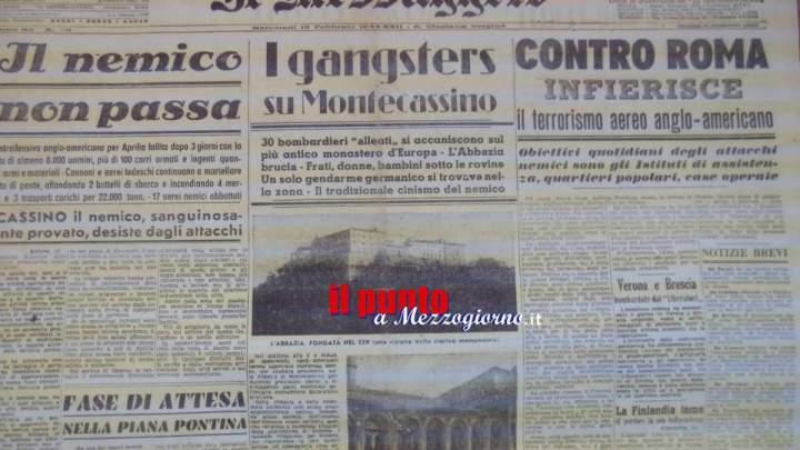 Distruzione di Montecassino: infamia e ignominia eterne