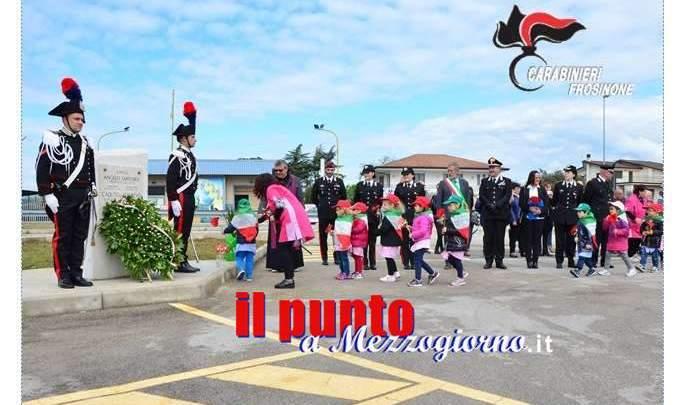 San Giorgio a Liri, intitolata una piazza all'appuntato scelto dei carabinieri Angelo Santoro