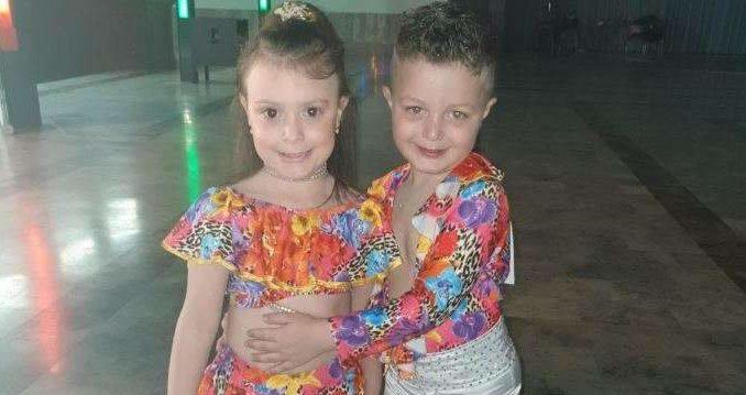 Piccole stelle del ballo, a 5 anni Desirée e Lorenzo incantano il palacavicchi
