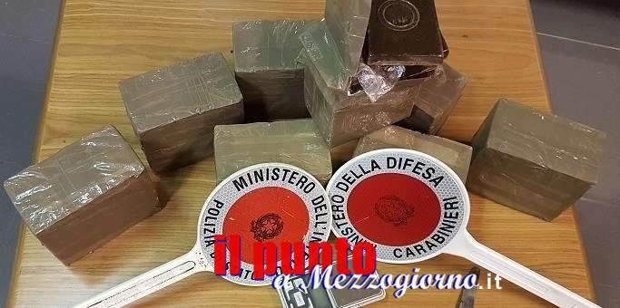 Fiumi di droga tra Alatri e Frosinone, 8 arresti e altrettanti indagati