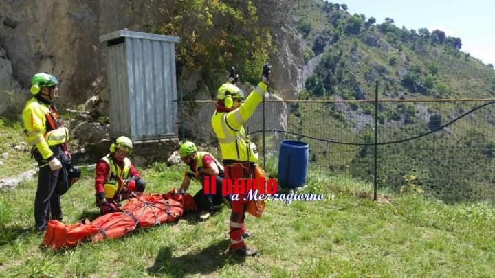 Roccasecca, escursionista si infortuna, recuperato dal Soccorso Alpino