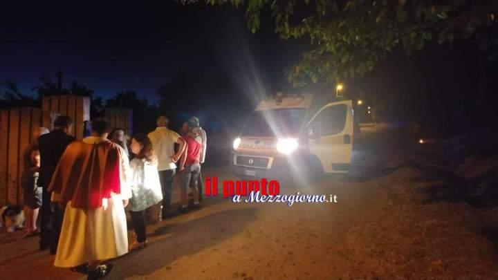 Ruba un'auto e si scaglia contro la processione a Vico nel Lazio, tre feriti
