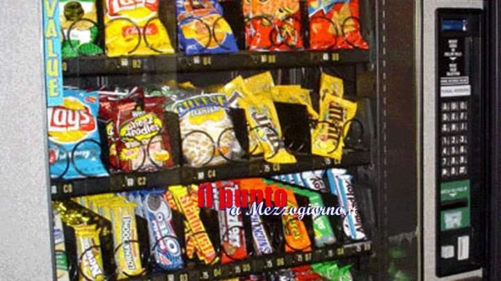 Distributori automatici nelle scuole, la Prefettura di Frosinone richiama attenzione agli aspetti nutrizionali