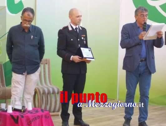 Legambiente premia il Nipaaf dei carabinieri Forestali di Frosinone